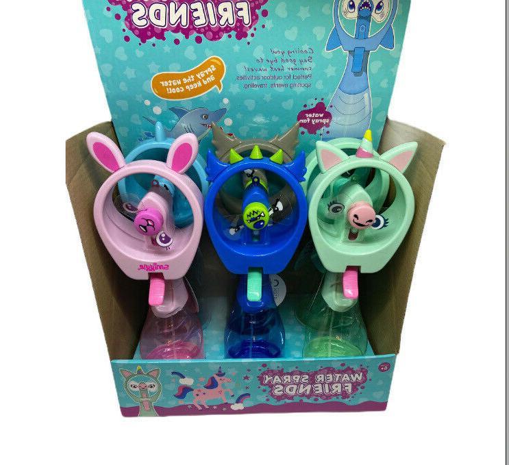Kids Portable Mister Spray Cooling Fan Agu