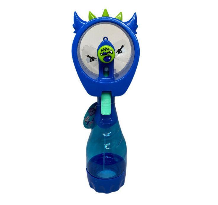 Kids Portable Bottle Mister Spray Fan Handheld Abanico Agu