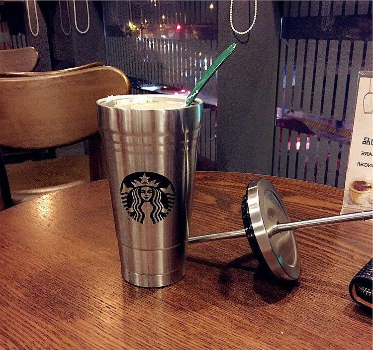 Large 500ML New Starbucks Coffee Water Stainless Steel Bottl