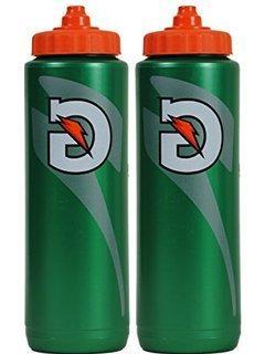 Set of 6 Gatorade Leakproof Green Orange Sport Squeeze Water