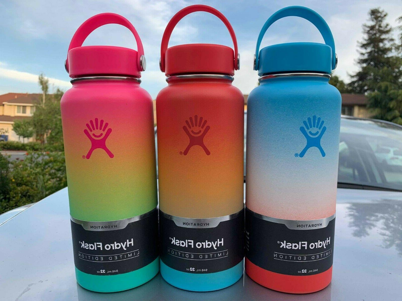 limited edition blue hawaii 32 oz water