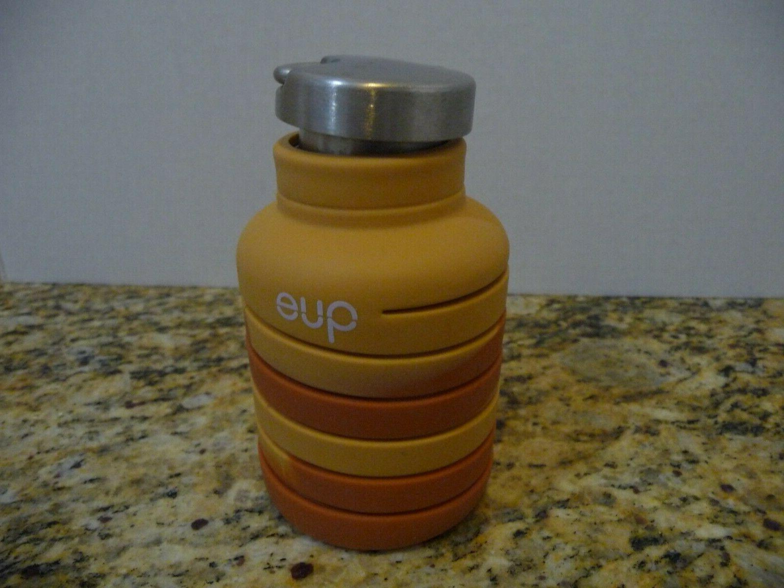 Limited Edition SANDSTONE Collapsible Water Bottle oz Silicone