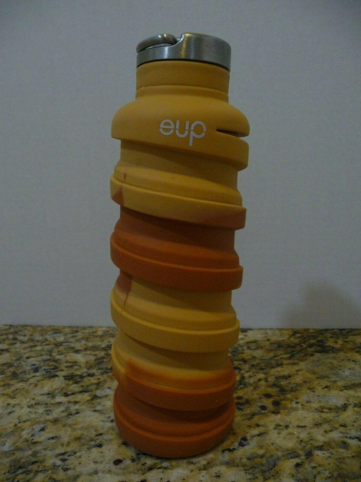 limited edition sandstone collapsible water bottle 20