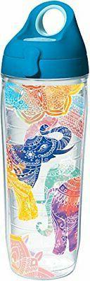 Tervis 24 oz. Mehndi Elephant Water Bottle Tervis One Size