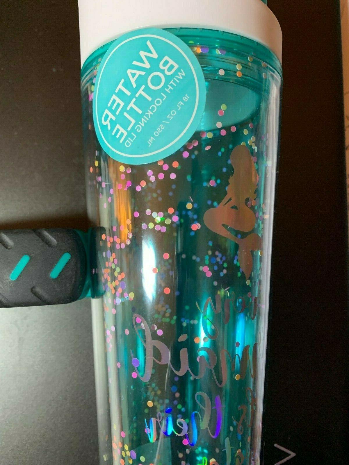 MERMAID WATER LOCKING LID NWT FL OZ, BPA SCHOOL GYM