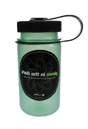 Nalgene Mini-Grip Glow Green Water Bottle
