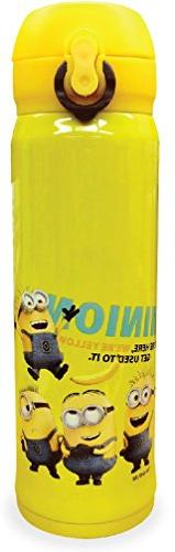 Into Corporation Minions One Push Stainless Steel Water Bott
