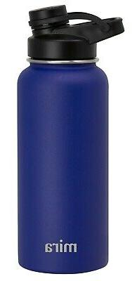 MIRA Insulated Vacuum Stainless Steel Water Bottle with Spou