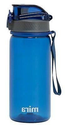Mira Tritan Water Bottle   BPA-Free & Reusable Plastic Sport
