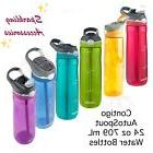 NEW Contigo Autospout Drink Water Bottle Straw 24oz/ 709mL B