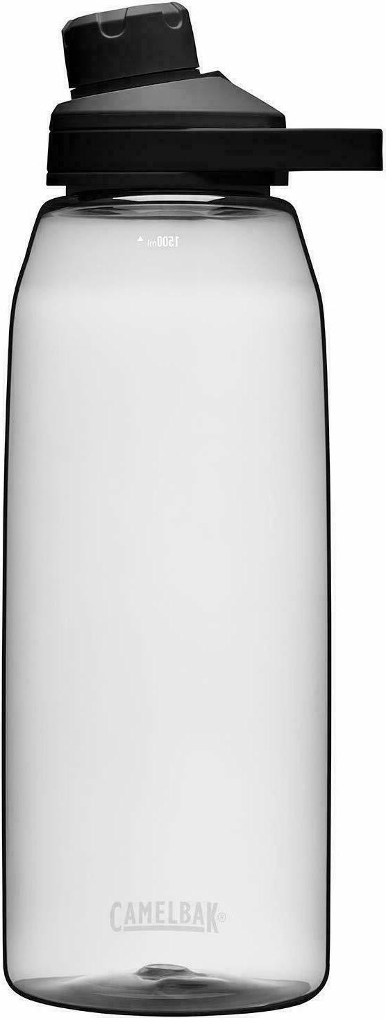 NEW CamelBak Chute Mag 1.5L Hydration Drink Bottle - Clear
