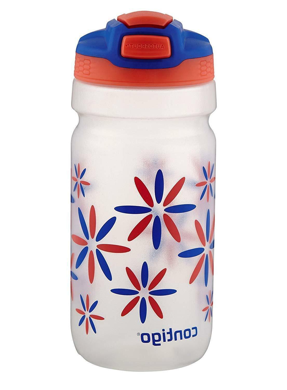NEW Contigo Kids Autospout Straw Squeeze Water Bottle - 18 O
