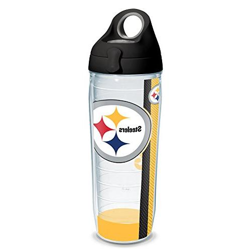Tervis 1231147 NFL Pittsburgh Steelers Stripe Tumbler with W