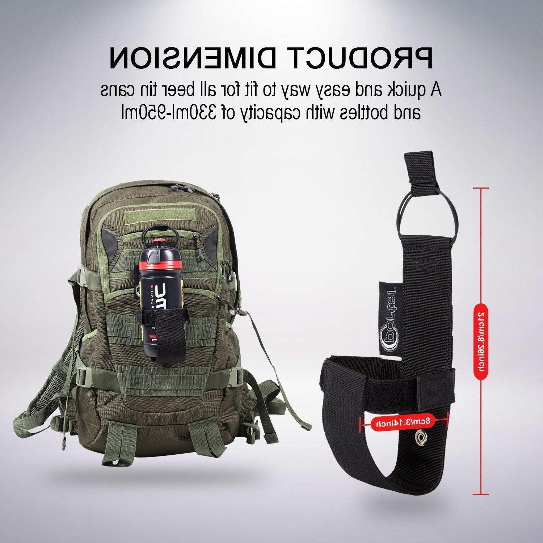 nylon water bottle holder belt carrier pouch