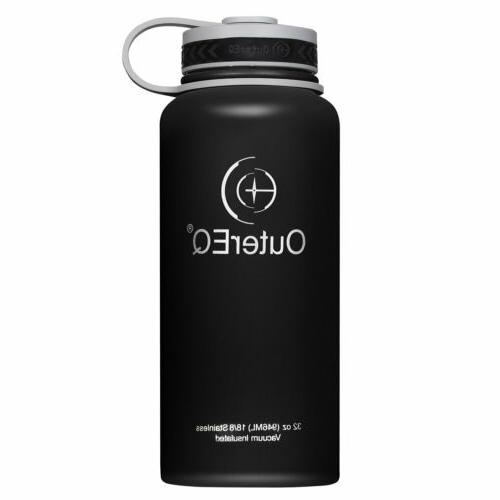 Outdoor Sport 32 oz Vacuum Insulated Stainless Steel Wide Mo