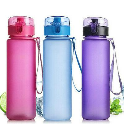 BPA Free Outdoor Sports Water Bottle Portable Leak Proof  Ju