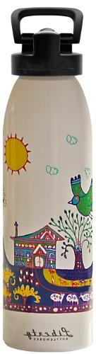 Liberty Bottleworks Paradise Found Sport Water Bottle, Pure,