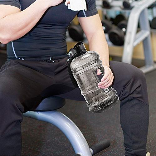 Water Jug 2.2Liter Sport Capacity BPA Free with Carrying Women Bicycle Gym Outdoor