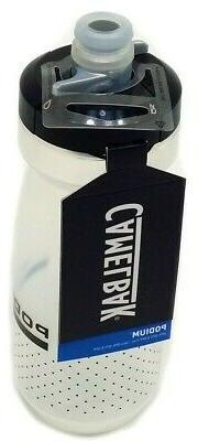 podium 21 oz water bottle carbon