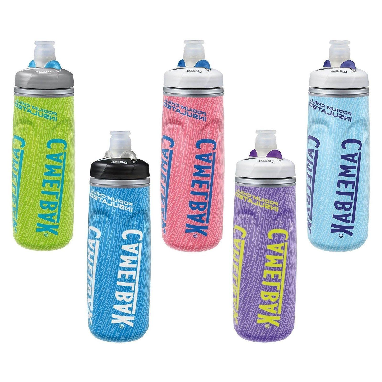CamelBak Podium Chill 21 oz. Insulated Water Bottle, 5 Color