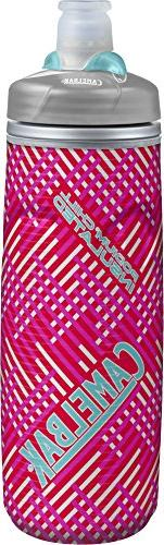 Camelbak Podium Chill Water Bottle: 21 oz, Flamingo