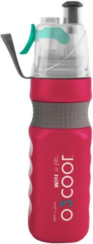 O2COOL® Power Flow Grip Band Bottle with Classic Mist 'N Si