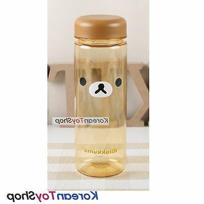 Rilakkuma Cute Water Bottle Kids Children Tritan BPA Free 50