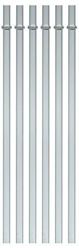 Southern Homewares Acrylic Drinking Straws - Set of 6 - Fits