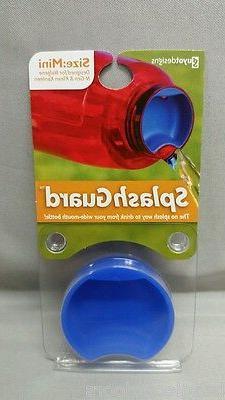 NEW Guyot Designs Splashguard Mini Bottle Sipper Insert Blue