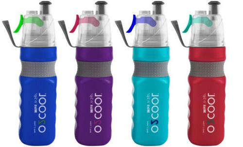 sports water bottle and refreshing mist 24