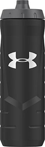 Under Armour Sideline 32 Ounce Squeezable Bottle, Black