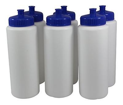 squeeze plastic water bottles push