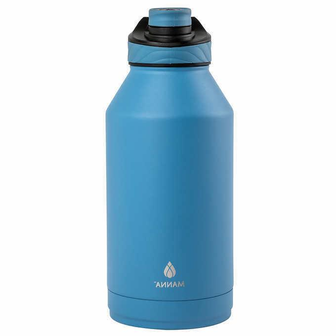 stainless steel 64oz water bottle vacuum insulated