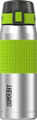 Thermos 24 Ounce Stainless Steel Hydration Bottle, Lime Gree
