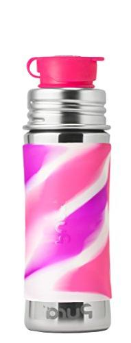 Pura Sport 11 oz / 325 ml Stainless Steel Kids Sport Bottle