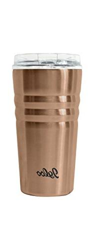 Igloo Stainless Steel Vacuum Insulated Tumbler, Copper, 16 o