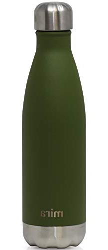 MIRA 17 oz Stainless Steel Vacuum Insulated Water Bottle | L
