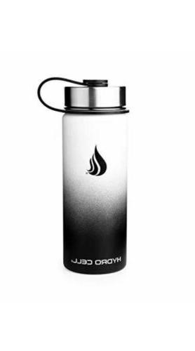 stainless steel water bottle straw wide mouth