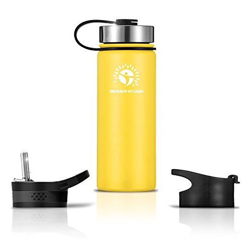 d036f68b2cf Stainless Steel Water Bottle/Thermos: 22 Oz. Double Walled
