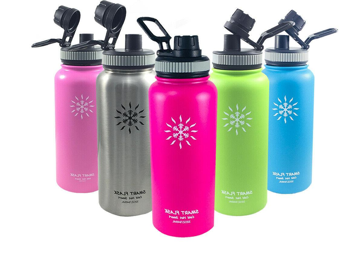 stainless steel water bottle vacuum insulated 32oz