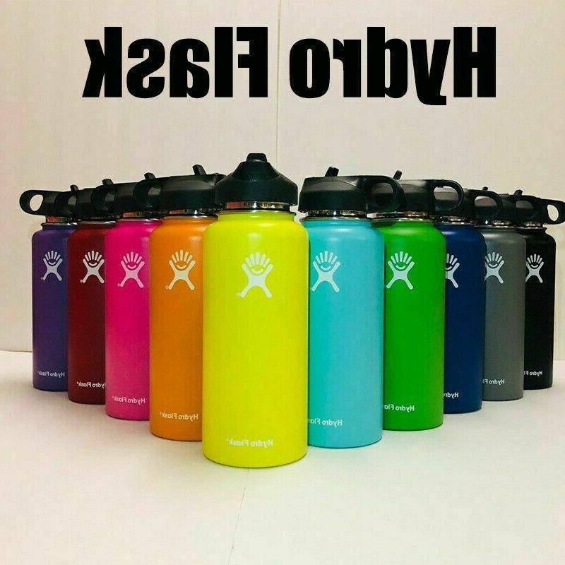 Water Bottle Insulated Straw Lid Drinking US Seller