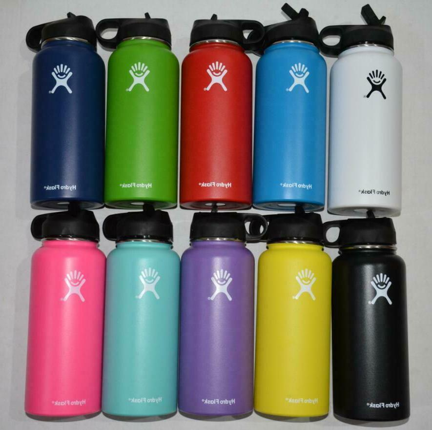 Water Bottle Insulated Lid Drinking US
