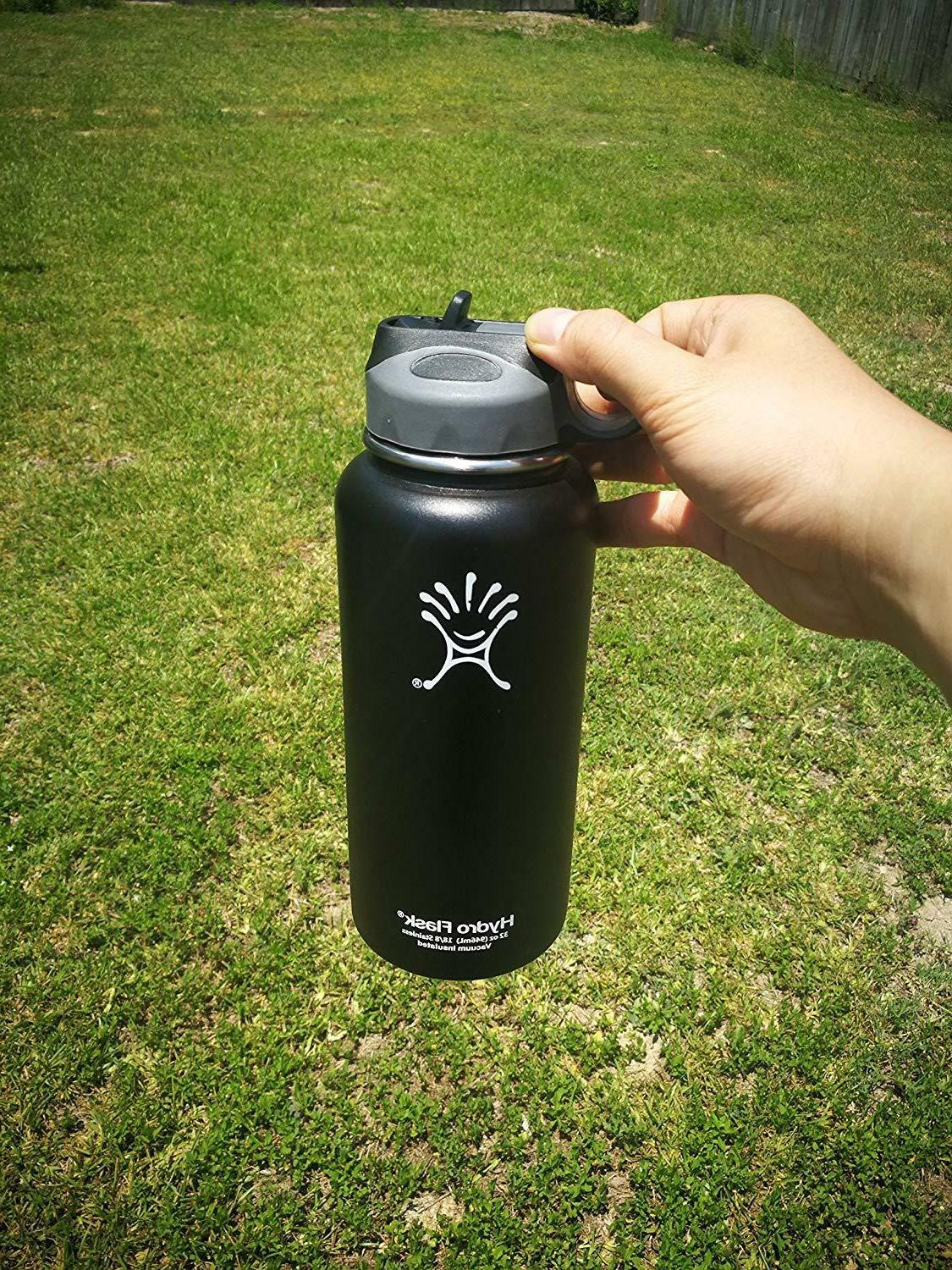 Flask Wide Bottle Replacement Straw Set