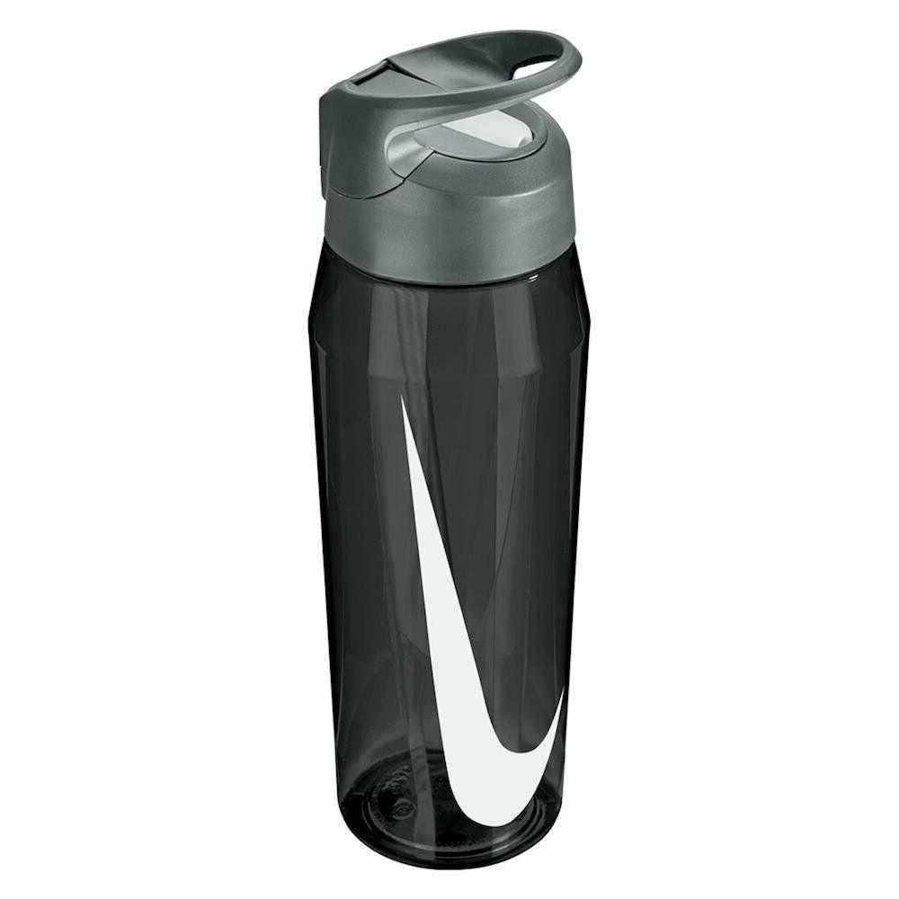 straw water bottle 32oz black