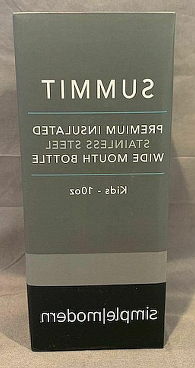 Simple Summit Premium Insulated Bottle w/Straw 10oz