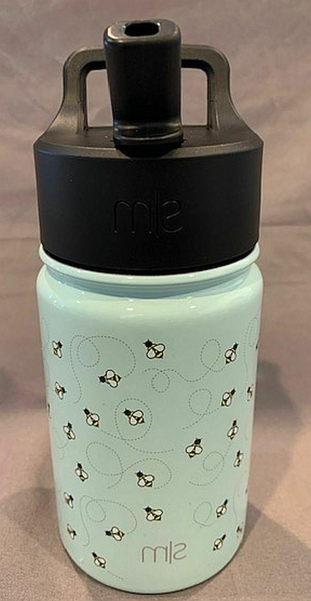 summit kids premium insulated water bottle w