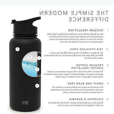 Simple Summit Bottle Lid & Steel - Vacuum