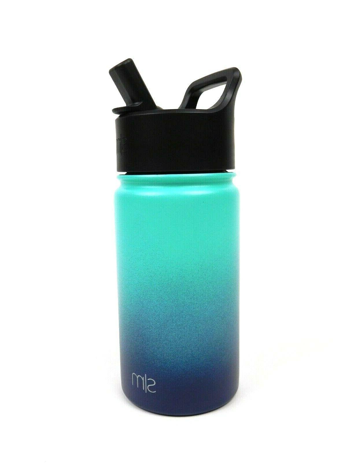 Simple Modern Bottle with Lid Bermuda Deep