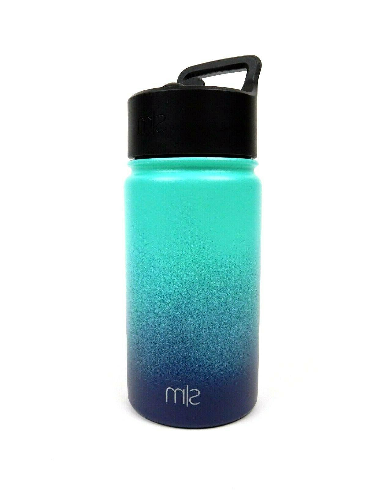 summit water bottle with straw lid bermuda