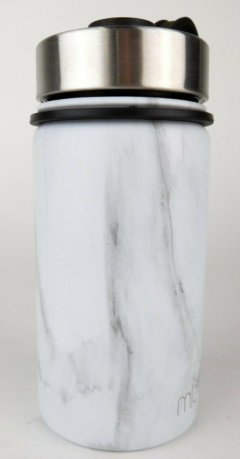 Simple Vacuum Insulated Water + Lid Marble